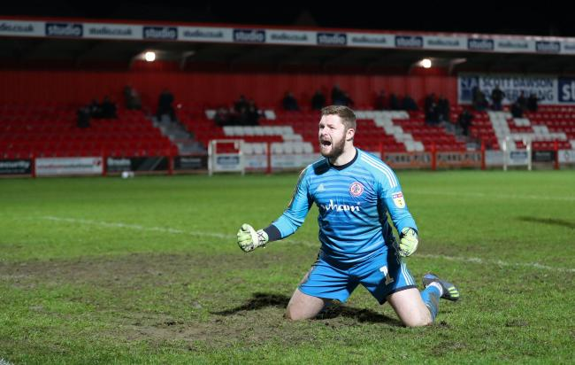 Ex- Forest Green keeper joins Exeter City