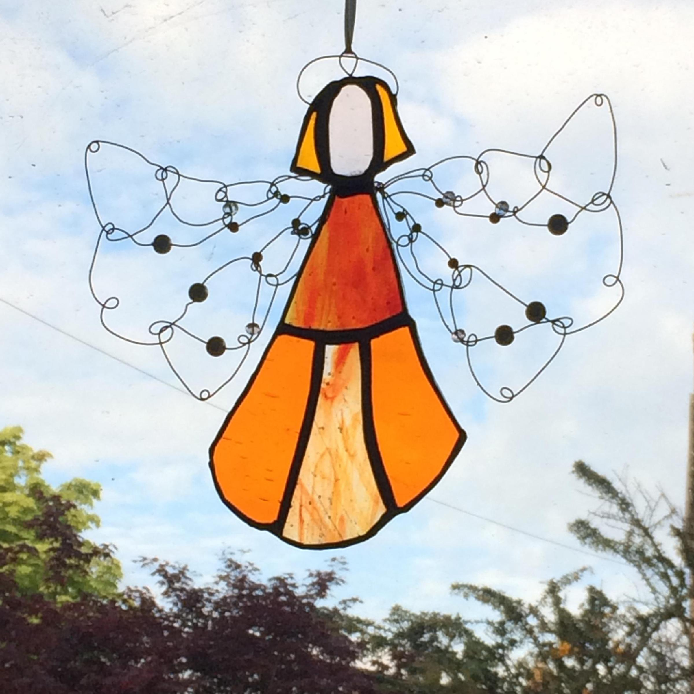 Stained Glass Angels & Stars Workshop