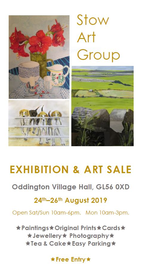 Art Sale & Exhibition by Stow Art Group