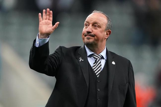 Rafael Benitez left Newcastle for China during the summer having decided not to sign a contract extension