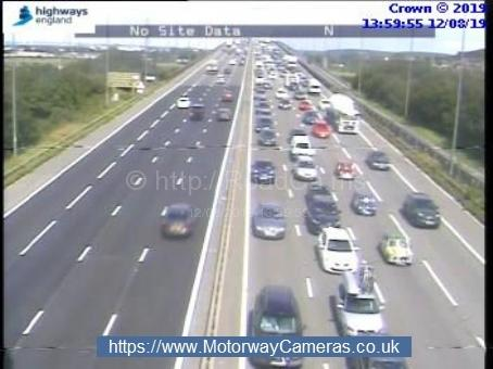 There are delays on the M5