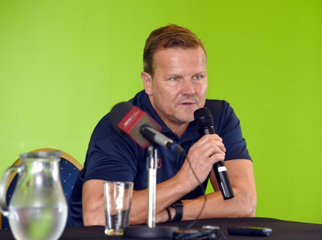 FGR boss Mark Cooper  Pic: Simon  Pizzey