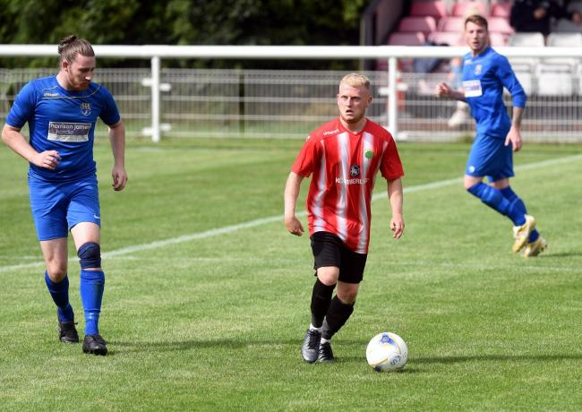 Lee Bowles bagged a brace for Shortwood