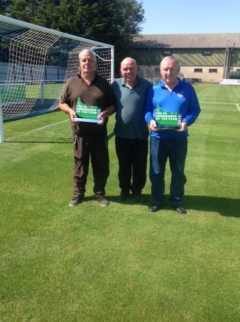 L/R -Ian Wrixon, Paul Chappell and Malcolm Carter
