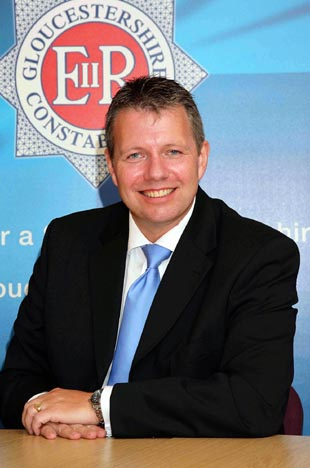 Devon and Cornwall deputy chief constable Tony Melville, who takes over from Dr Tim Brain as Gloucestershire's new chief constable in January