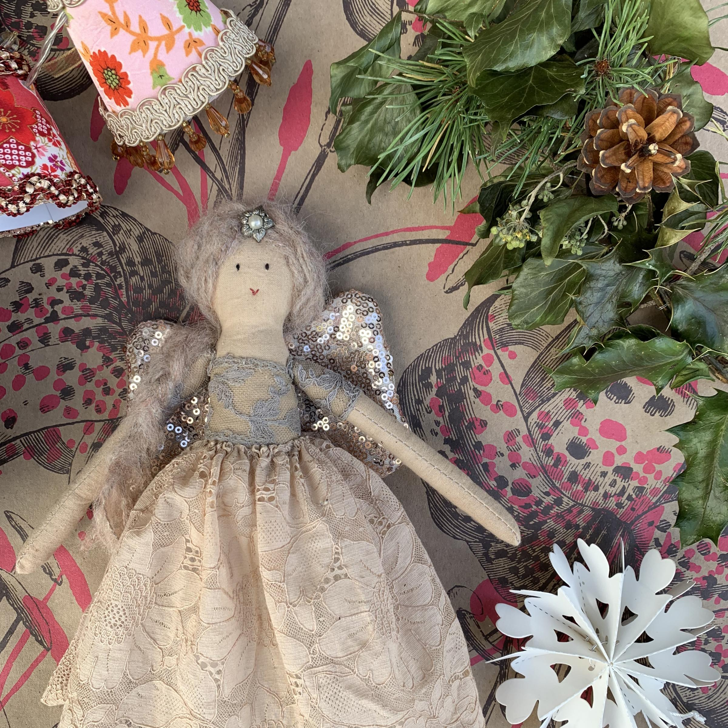 Malthouse Collective Rosablue Christmas Fairy Making Workshop