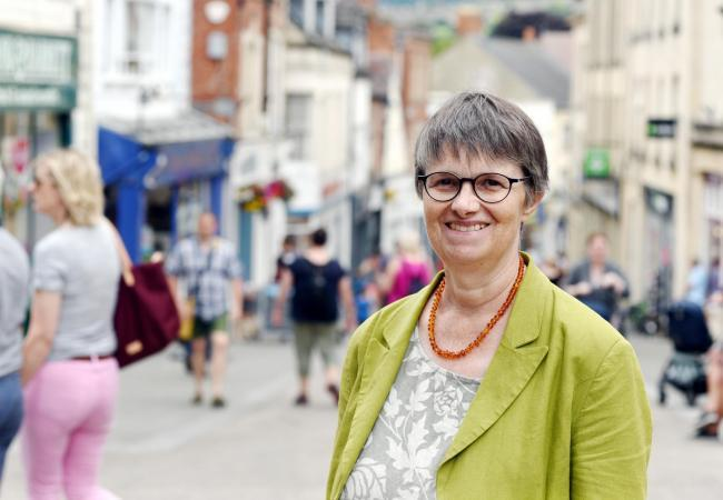 Molly has defended her decision to stand in Stroud.