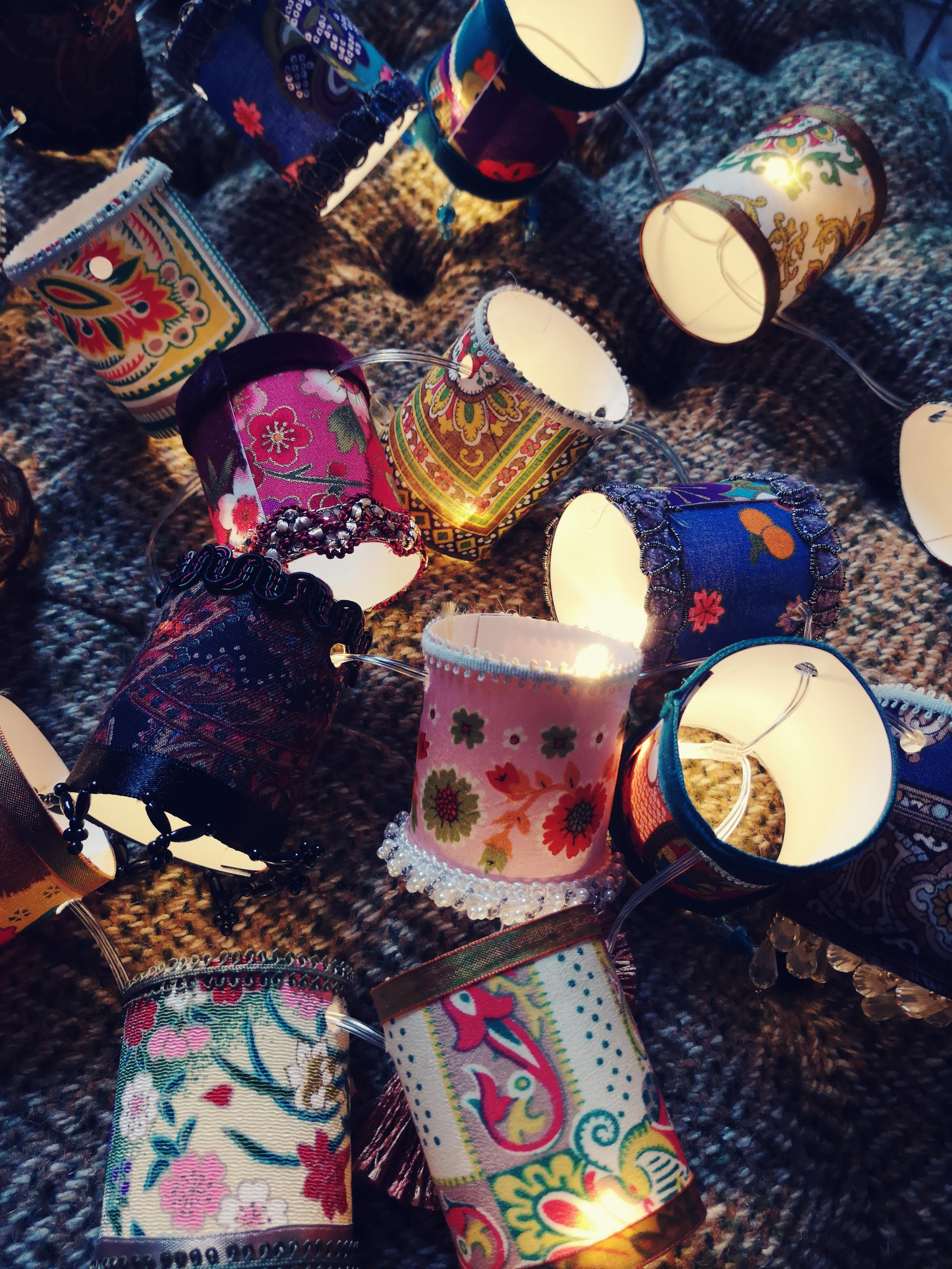 The Malthouse Collective Sew Vintage Christmas Fairy Light workshop