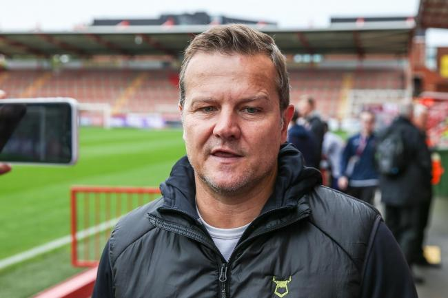 FGR boss Mark Cooper           Pic: Shane Healey/ Pro Sports