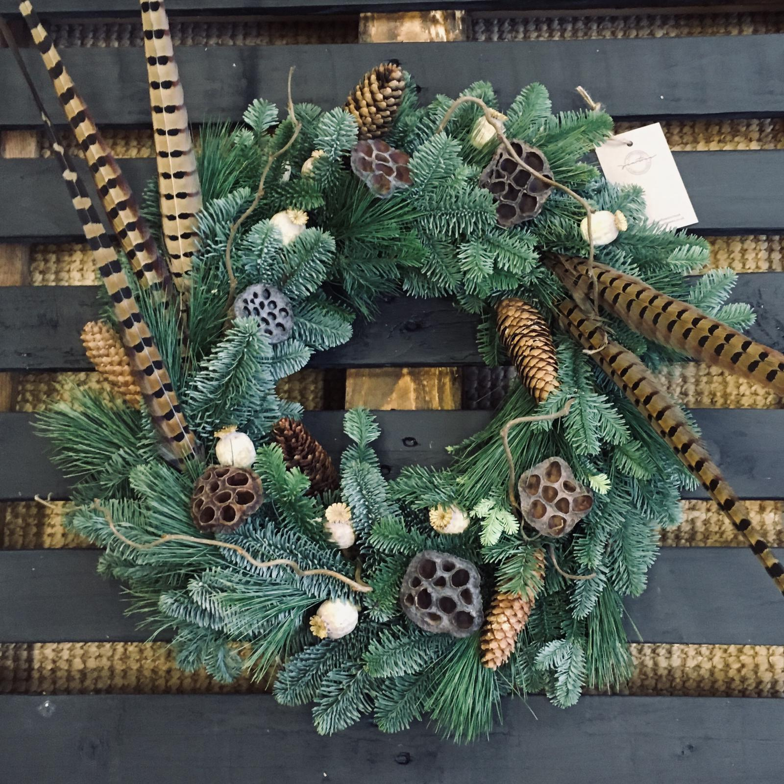 The Malthouse Collective Peartree Flowers Wreath Making Workshops