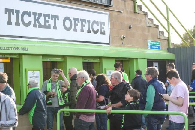 Cheltenham Town Vs Forest Green Rovers: Important ticket information