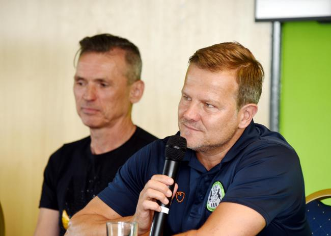 Dale Vince and Mark Cooper