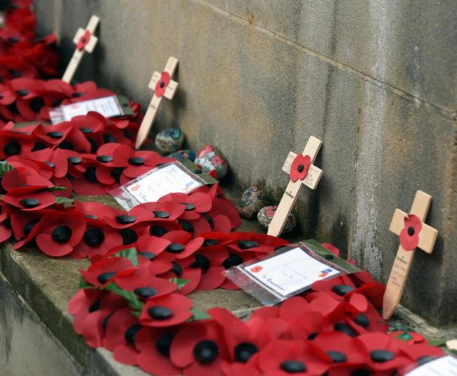 Remembrance Day services in the Stroud district