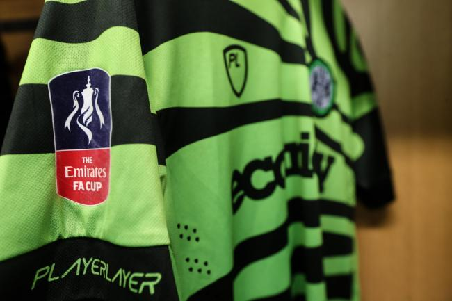Forest Green will be away to Championship outfit Cardiff City in the third round of the FA Cup – should they overcome next week's replay against Carlisle United         Pic: Shane Healey