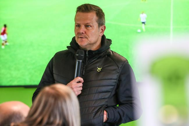 FOREST GREEN is in rude health going into 2020, according to upbeat head coach Mark Cooper           Pic: Shane Healey