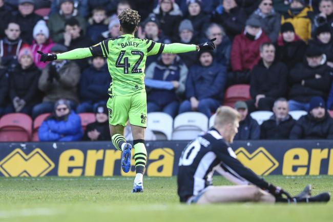 A WONDER strike from Birmingham City wonderkid  Odin Bailey saw Forest Green end a three-game losing streak with a dogged display at rejuvenated Grimsby Town.