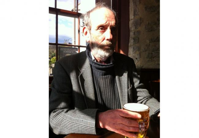 John Hatton, pictured in the Village Inn in Nailsworth in 2012. Photo courtesy of Tim Mars