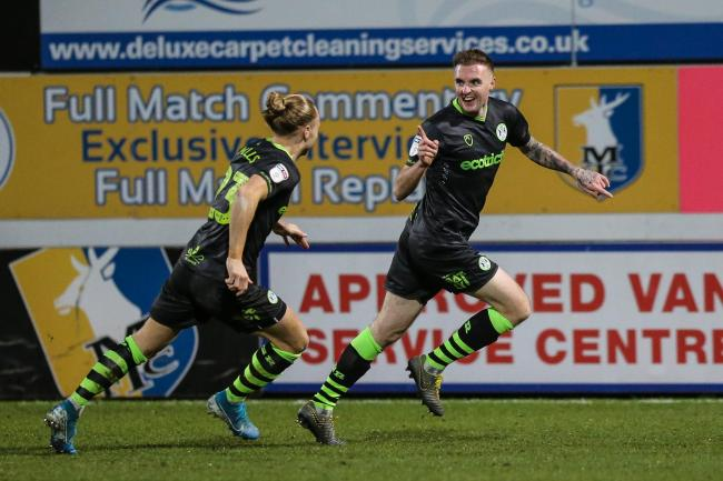 FOREST GREEN head coach Mark Cooper insists captain Carl Winchester should be playing in the Championship.