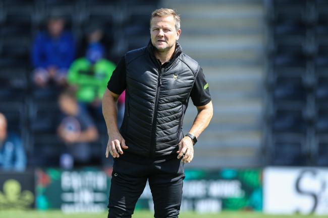 FOREST GREEN  boss Mark Cooper has called for the season to be halted to enable authorities to combat coronavirus.