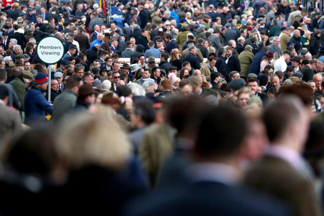 The organisers of Cheltenham Festival have released a statement after racegoers and staff have developed symptoms of Covid-19