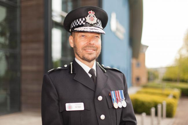 Gloucestershire's Chief Constable Rod Hansen has released a statement