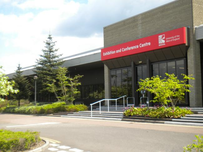 Exhibition and Conference Centre (ECC) on UWE Bristol's Frenchay campus