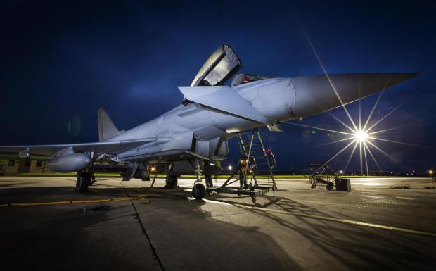 Stroud News and Journal: A Typhoon jet