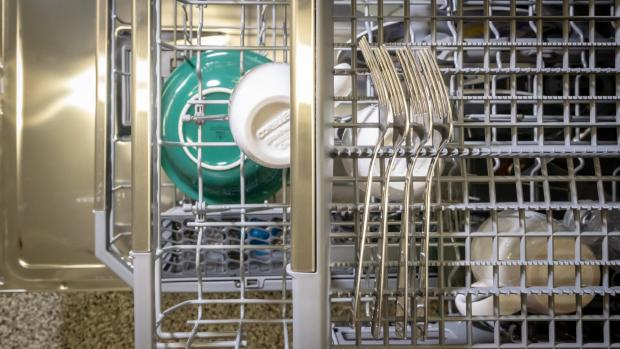 Stroud News and Journal: The cardinal sin of dishwashing is blocking the water spray. If you do that, there's no point in running the dishwasher, because your dishes won't get clean. Credit: Reviewed / Jonathan Chan