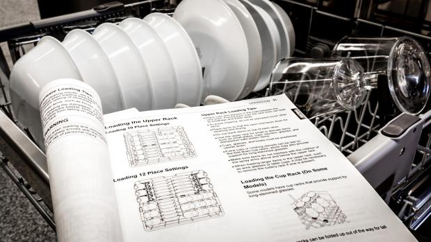 Stroud News and Journal: Find your dishwasher's user manual, and use it. Yeah, it's not a compelling read, but it will show you the best ways to load. And if anything ever goes wrong, the manual will help you troubleshoot. Credit: Reviewed / Jonathan Chan