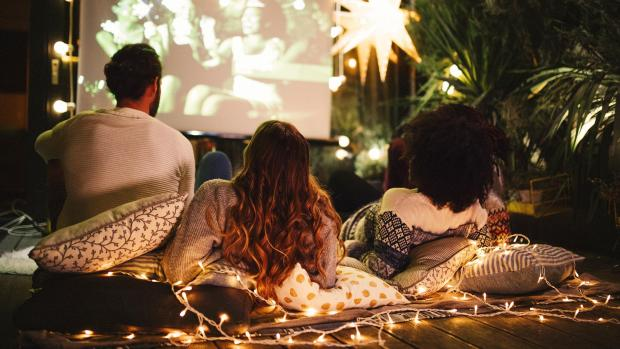 Stroud News and Journal: Sit back and relax with a projector and outdoor screen. Credit: Getty Images / M_A_Y_A