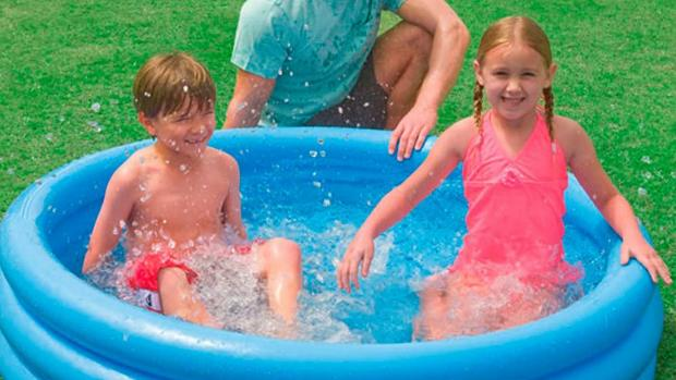 Stroud News and Journal: Lower your body temp with this inflatable pool. Credit: Intex