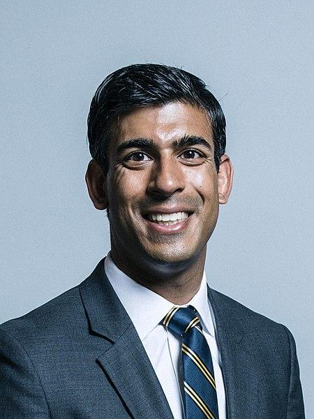 Rishi Sunak - UK Parliament official portraits 2017