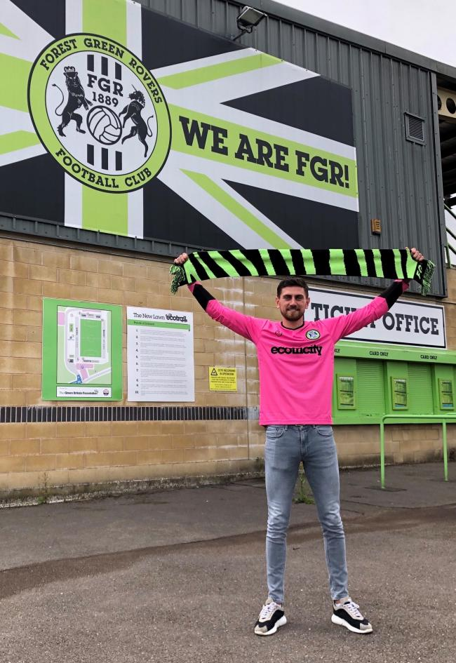 Forest Green have completed the signing of Portsmouth goalkeeper Luke McGee