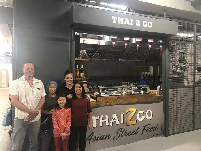Thai 2 Go now open at Stroud's new indoor street food market