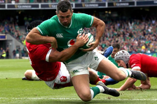 Rob Kearney enjoyed a standout career with Ireland and Leinster