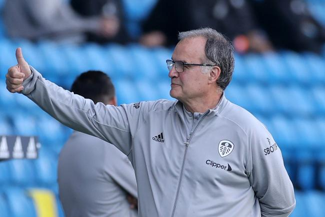 Marcelo Bielsa, pictured,has boosted his defensive options with the capture of Diego Llorente