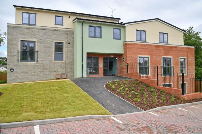 Tanners Piece in Nailsworth was transformed from eight prefabricated bungalows in to 11 modern apartments for older people by Stroud District Council