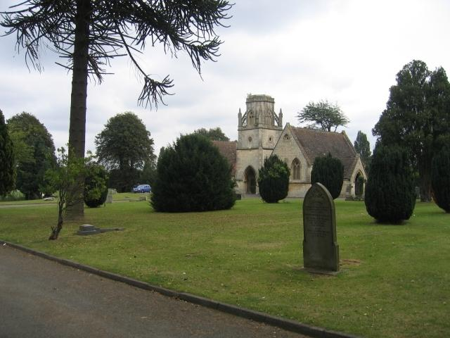 Tredworth Cemetery, Gloucester. Photo by David Stowell