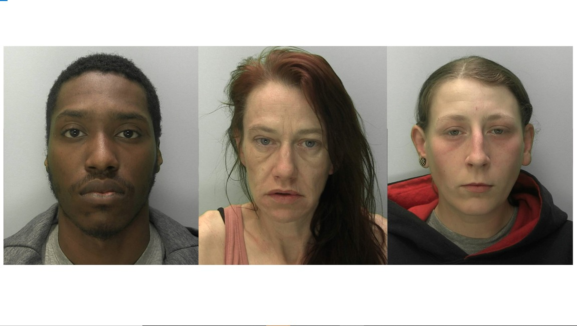 Court report: three sentenced in Class A drugs in Stroud case
