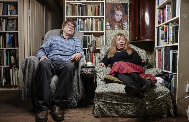 Stroud News and Journal: Giles and Mary. Picture: Channel 4