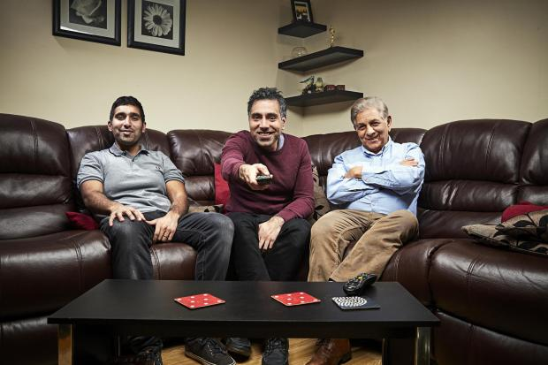 Stroud News and Journal: The Siddiqui family. Picture: Channel 4