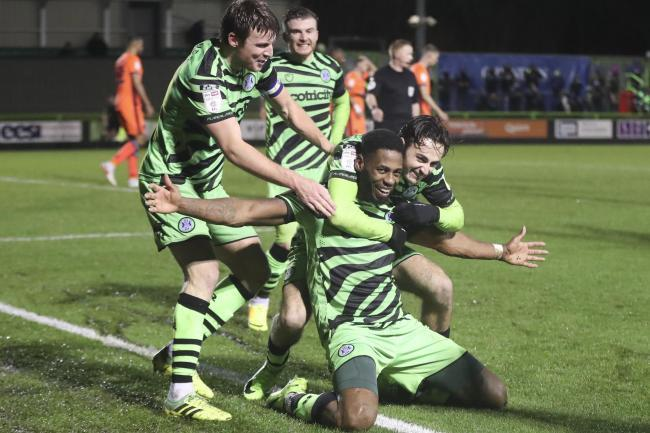 Jamille Matt has triggered an extension in his contract with Forest Green Rovers
