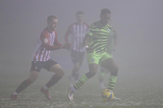 A foggy New Lawn. Photo: Shane Healey/Pro Sports Images