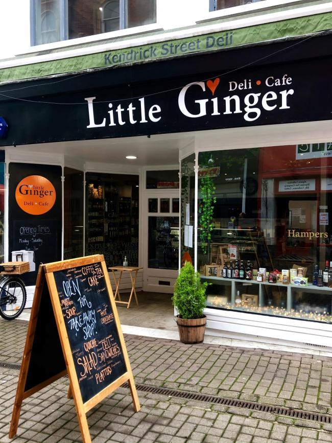 Little Ginger Deli and Cafe on Kendrick Street