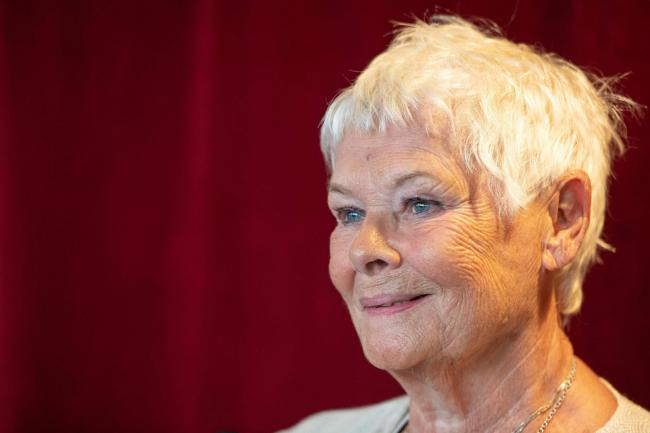 Dame Judi Dench attends the reopening of the Ashcroft Playhouse at the Fairfield Halls, Croydon (Dominic Lipinski/PA)