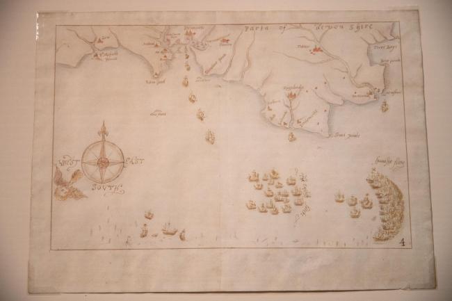 One of the armada maps