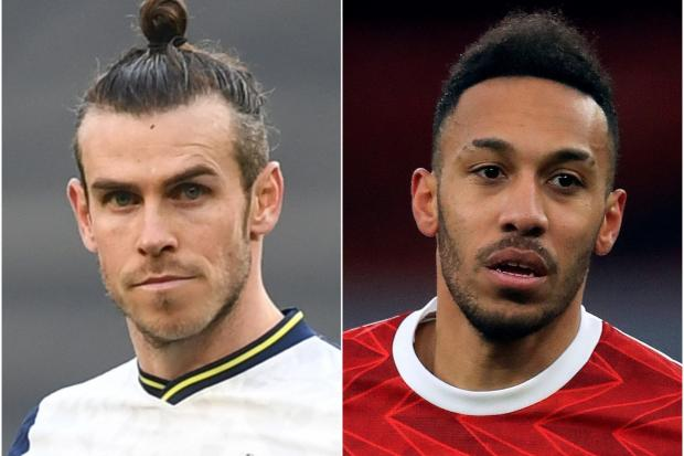 Gareth Bale and Pierre-Emerick Aubameyang