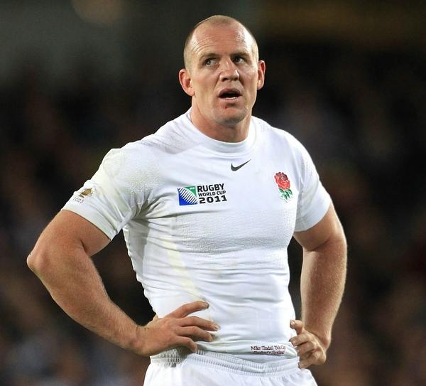 Former Gloucester and England rugby player Mike Tindall