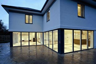 The sustainable, contemporary Cheltenham House, designed by Tetbury-based architects Verity & Beverley. The project secured the historic practice a coveted finalist place at the Design Awards 2011