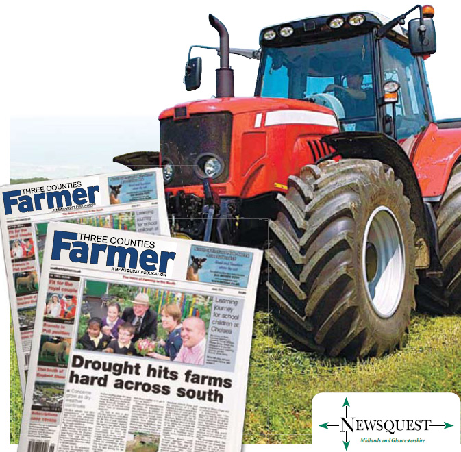 Stroud News and Journal: tractor